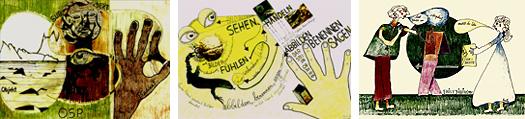 Ausstellung Am Haken - Geschichten und Bilder - von Gisela Zies