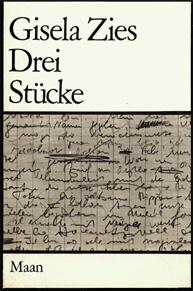Cover von Gisela Zies' Drei Stücke