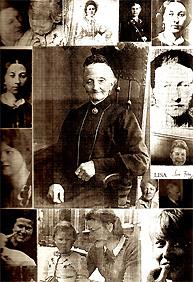 Illustration zum Text Anna. Lisa, Karoline, Henriette von Gisela Zies, Berlin