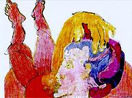 Illustration zum Bachmanntext Paula von Gisela Zies, Berlin