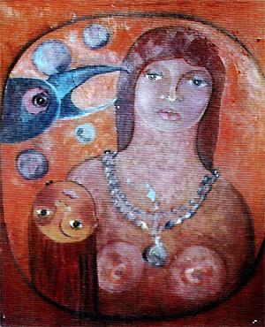 Illustration zu dem Theaterstück Judith von Gisela Zies, Berlin