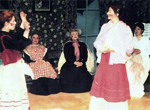 Szenenfoto aus dem Theaterstück Stilleben von Gisela Zies, Berlin