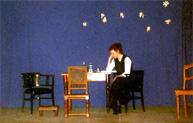 Illustration zu dem Theaterstück Voices von Gisela Zies, Berlin