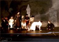 Szenenfoto des Theaterstücks Orpheus von Gisela Zies